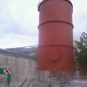Storage tank placement