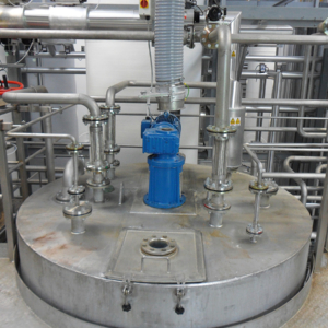 Mixing vessel inlets