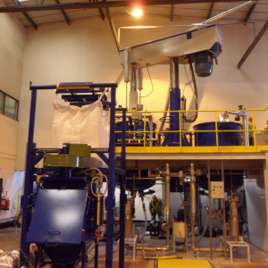 Overall plant installation of resin manufacturer