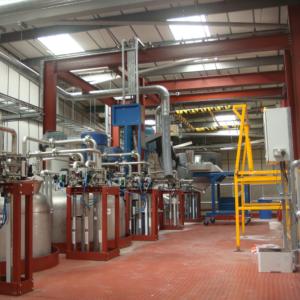Prime equipment installation top floor
