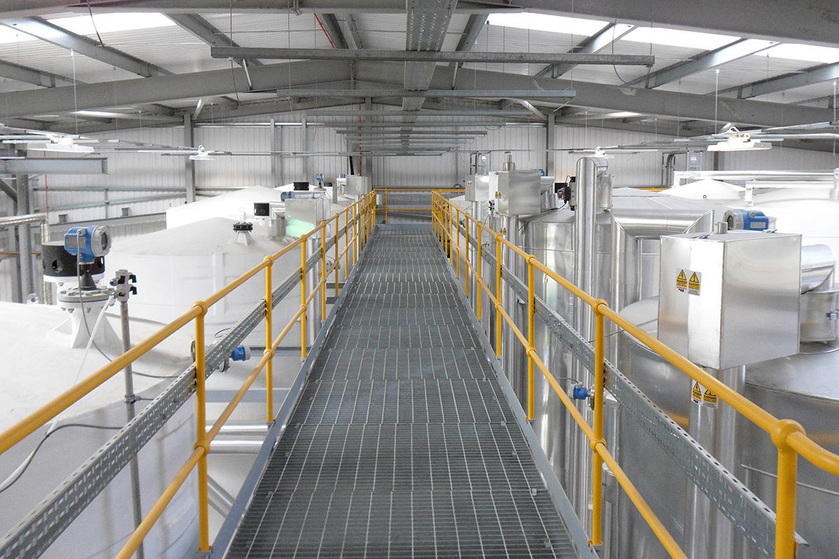 Level Sensors for Indoor Tank Farm